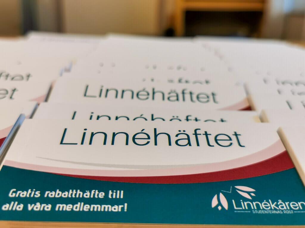 Bild på Linnéhäftet - rabatthäfte för medlemmar