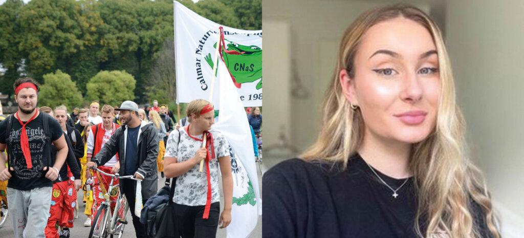 Frida och studentliv i Kalmar